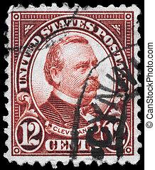 USA - CIRCA 1923 Grover Cleveland - USA - CIRCA 1923: A...