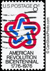 estados unidos de américa, -, hacia, 1971,...