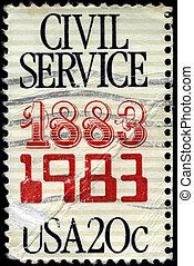 USA - CIRCA 1983 Civil Service