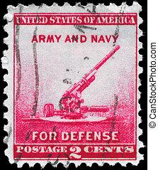 USA - CIRCA 1940 Gun
