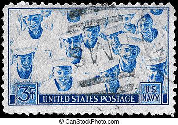 USA - CIRCA 1945 Sailors