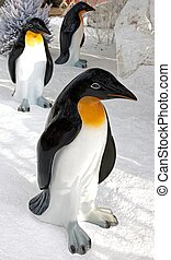 the ballad of pinguins, decoration of Christmas