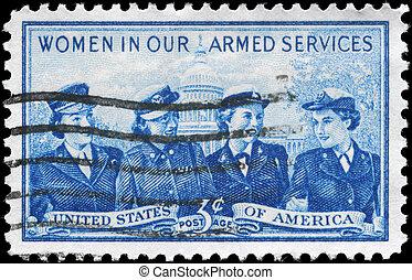 USA - CIRCA 1952 Service Women