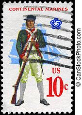 USA - CIRCA 1975 Marines