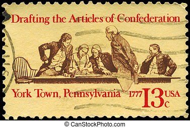 USA - CIRCA 1977 Articles of Confederation - USA - CIRCA...