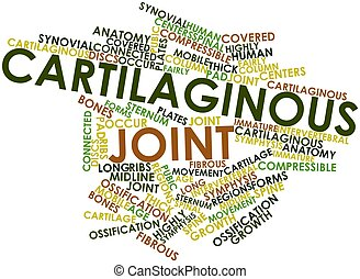Cartilaginous joint - Abstract word cloud for Cartilaginous...