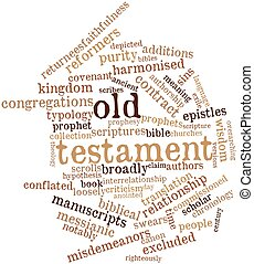 Word cloud for Old Testament - Abstract word cloud for Old...