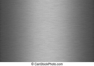 Brushed metal texture - texture of metallic sheet with...