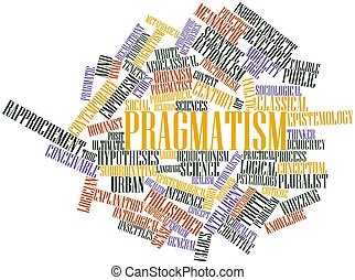 Word cloud for Pragmatism - Abstract word cloud for...