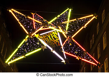 Seven Dials Christmas Lights in London - The fantastic...