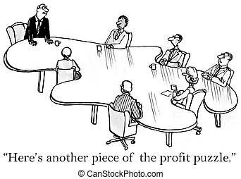 """Here's another piece of the profit puzzle - """"Here's another..."""
