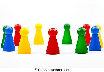 pieces/figures, juego