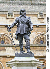 Oliver Cromwell - Statue in front of Palace of Westminster...