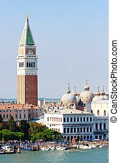 San Marco and Campanile, Venice, Italy