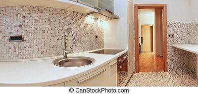 Contemporary kitchen - Luxury contemporary kitchen interior...