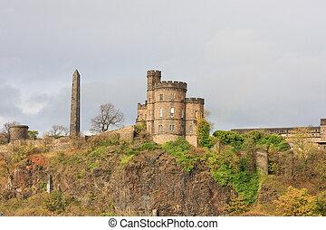 View of Carlton Hill, Edinburgh