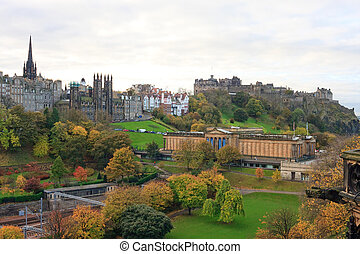 Edinburgh Castle and Park