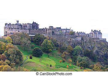 Edinburgh Castle Close Up