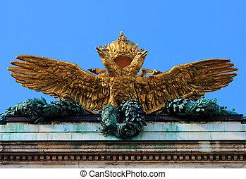 ?sterreich Ungarischer Doppeladler, Hofburg, Wien