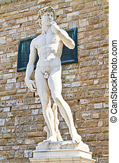 David Statue of Michelangelo, Florence, Tuscany, Italy
