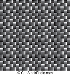 Carbon fiber texture, bound crosswise fibers background