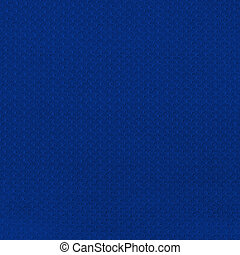 Royal Blue Jersey Mesh - Closeup on a Blue Sport Jersey Mesh...