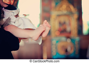 feet of the baby