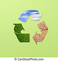 Recycle planet.
