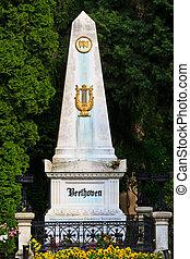 貝多芬, 墳墓, 維也納, 中央, 公墓, 奧地利