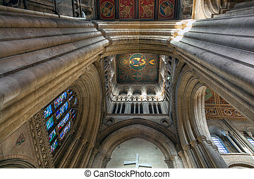 Interior view Ely Cathedral