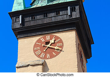 Town hall Tower, Znojmo / Znaim, Czech Republic - Town hall...
