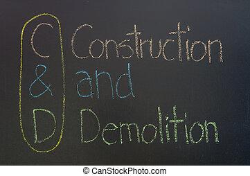 C&D acronym Construction and Demolition - C&D acronym...