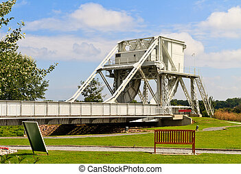 Pegasus Bridge, Normandy, France, One of the objectives for...