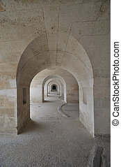 Architectures ancient stone in Minorca
