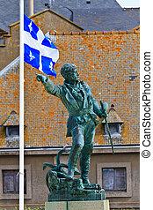 Jacques Cartier Statue