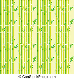 Bamboo pattern - Bamboo stripes seamless pattern