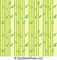 Bamboo pattern - Bamboo stripes seamless pattern
