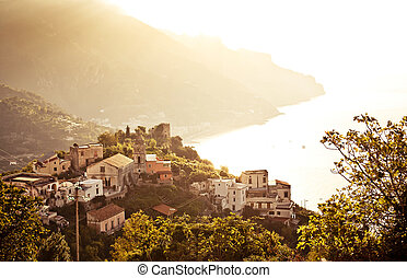 Ravello, Amalfi Coast, Italy. - Beautiful small town Ravello...