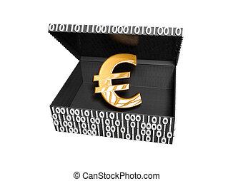 Euro symbol in a Numeric Box