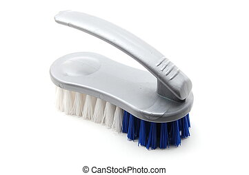 Brush - A Brush isolated on a white backround