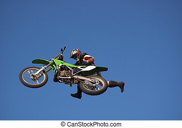 Moto X Freestyle 7 - Moto X Freestyle rider radical running...