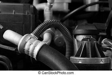 coche, motor, manguera, partes, Diy, Mantenimiento,...