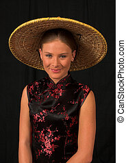 Japanese model theme 4 - Western model in traditional...