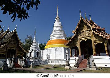 Inside Phra Singh - Inside Wat Phra Singh, Chiang Mai,...