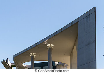 The Bundeskanzleramt / Kanzleramt / Chancellery is the seat...