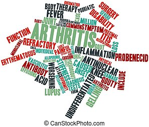 Word cloud for Arthritis - Abstract word cloud for Arthritis...