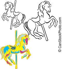 Carousel Horses - Horses for carousel