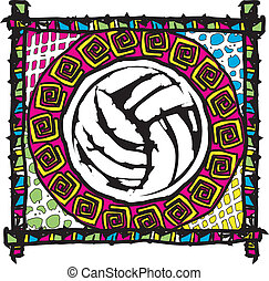 Vollyball design - Beach Volleyball Design