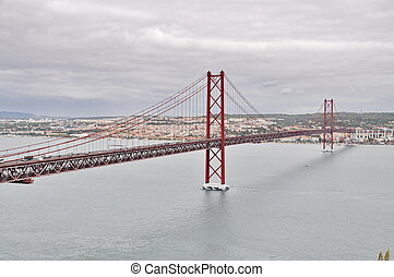 """25 de Abril"" Bridge of Lisbon"