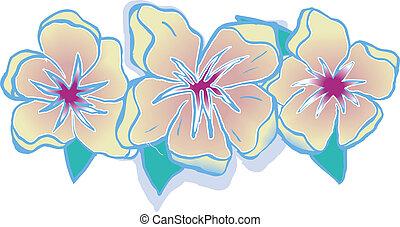Hawaiian Floral - flowers with Hawaiian flair